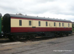 374-886 Farish LMS 50ft Full Brake BRV Crimson & Cream
